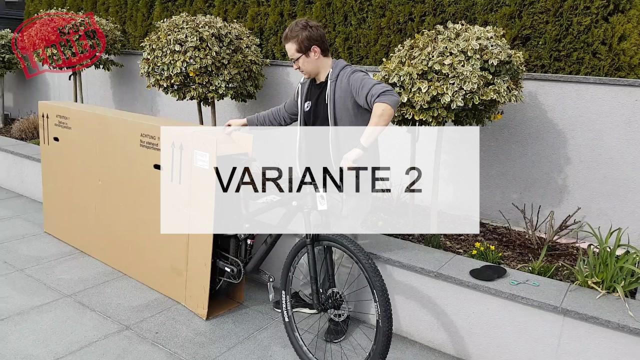 Wie Versenden Wir Unsere Bikes Youtube