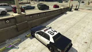 How to get grand theft auto five lspd fr on ps4 xbox pc