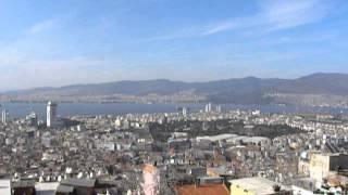Izmir (from Kadifekkale). Turkey/Turquie. 24 mars 2013.