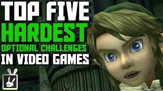 Top Five Hardest Optional Challenges in Video Games - rabbidluigi
