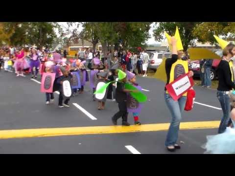 Cartersville Primary School CPS Book Character Day Parade 2013-10-31