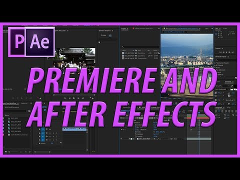 How to Use After Effects and Premiere Pro Together (The Adobe Premiere and After Effects Workflow)