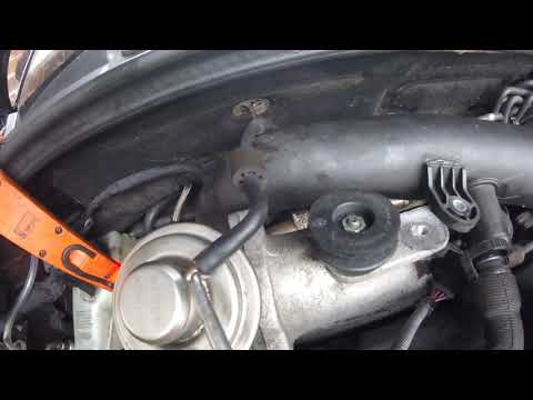 How To Remove EGR And Cooler Audi A3 1.9 / Как  снять EGR и Cooler Audi A3 1.9