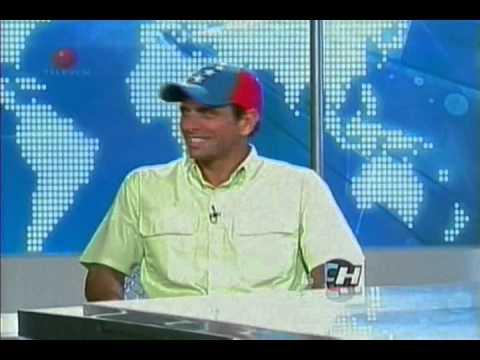 Luis Chataing y Henrique Capriles Radonski.