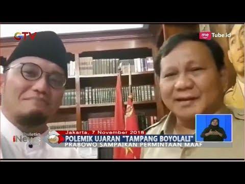 Video Prabowo Subianto Minta Maaf soal Pidato Tampang Boyolali - BIS 07/11 Mp3