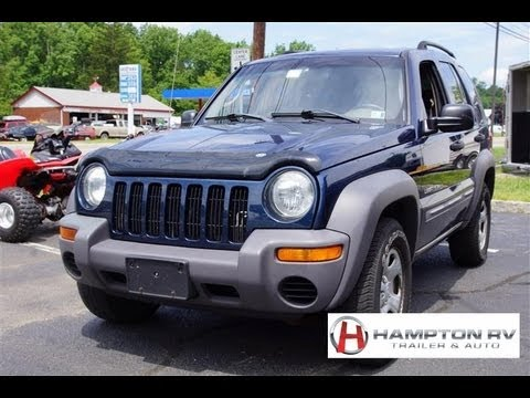 2003 Jeep Liberty Sport 3.7 4x4 - YouTube