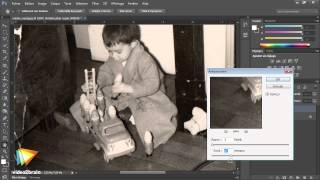Photoshop CS6 : Filtre antipoussière pour les rayures et petits points blancs
