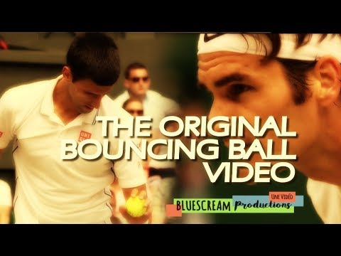 FEDERER vs DJOKOVIC EPIC BOUNCING BALL !! [AMAZING]