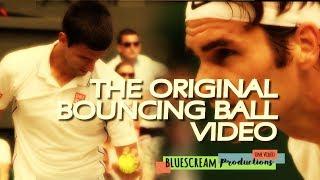 FEDERER vs DJOKOVIC EPIC BOUNCING BALL !! [AMAZING]
