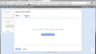 Geocoding with Google My Maps Free HD Video