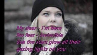 Anette Olzon - Invincible (Audio + Lyrics on screen)