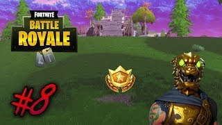 """""""Search between a bear, crater, and a refrigerator shipment"""" Fortnite Week 8 Battlestar Location"""