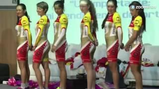 Спортивная форма в стиле НЮ. Женской команды по Велоспорту.