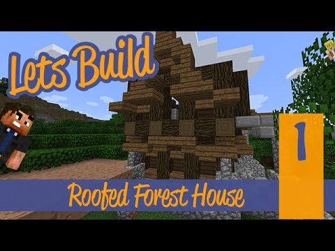 Large Roofed Forest House Ep. 1   The First Floor!
