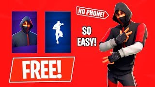 HOW TO GET TΗE IKONIK SKIN AND SCENARIO EMOTE FOR FREE IN FORTNITE | NO PHONE NEEDED!