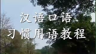 汉语口语 习惯用语教程 *-*