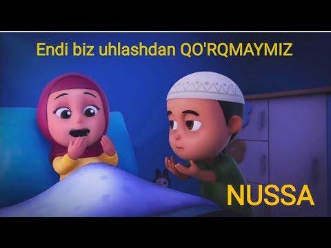 Multfilm NUSSA UHLASHDAN QO'RQMAYMIZ 1-QISM  MULTFILM