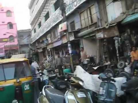 Delhi 13 Old Delhi Car Parts Area Youtube