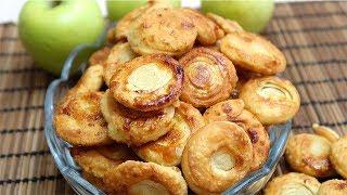 Печенье из простых продуктов Сахарные завитушки