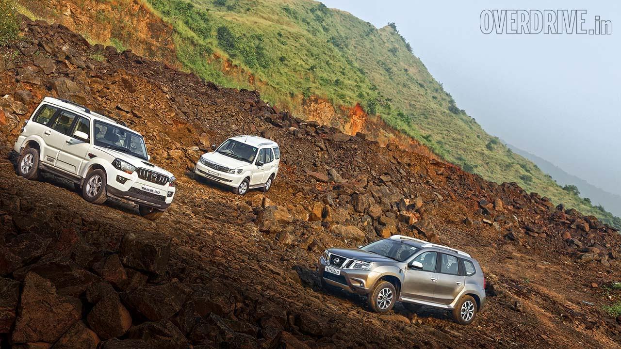 2015 Mahindra Scorpio Vs Tata Safari Storme Vs Nissan