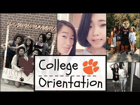 Vlog 27: College Orientation!| Meeting New Friends| Making New Memories^^