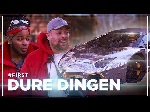 QUCEE en KEIZER rijden in LAMBORGHINI van €500K: DURE DINGEN #FIRST