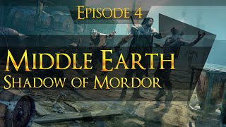 Middle Earth: Shadow of Mordor 1080p HD 100% Walkthrough (Ultra HD Content Texture Pack) - Part 4
