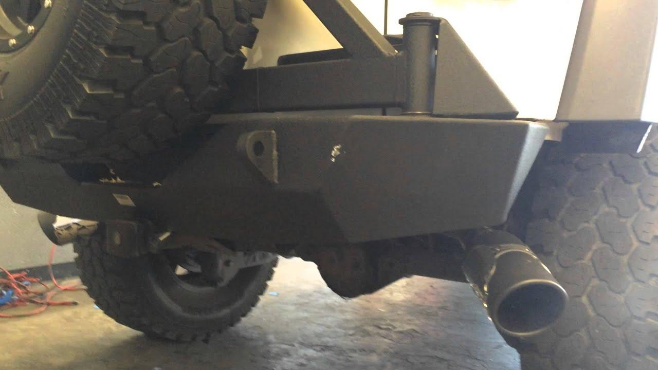 Metal Mulisha Gibson Dual Exhaust Jeep Jk Wrangler Side