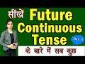 सीखें Future Continuous Tense with Examples   आसान तरीका हिंदी में   English series [ Day 12 ]