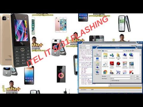 itel it 5231 flashing - YouTube