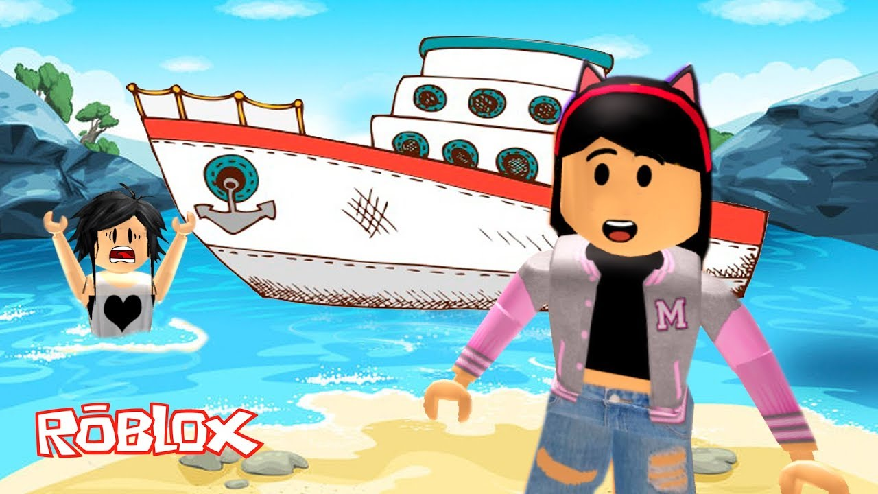 Roblox - FUGINDO DO NAVIO COM MINHA MÃE (Escape the Cruise Ship Obby) | Luluca Games