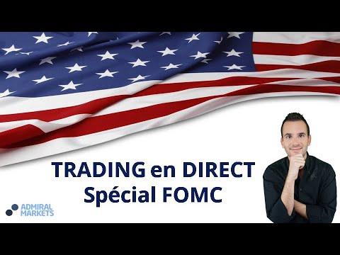 #FOMC – Trading en Direct Spécial Calendrier économique avec Admiral Markets!