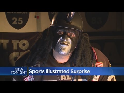 Oakland Raiders Uber Fan Dr. Death Makes Cover Of Sports Illustrated
