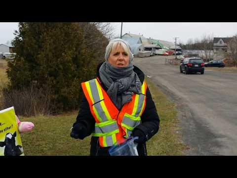 Ottawa Farm Save Introduction to Vigil at Ottawa Livestock Exchange Dec, 7, 2017