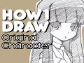 How I Draw Manga Girl/Original Character