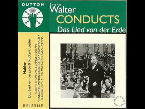 Bruno Walter & Wiener Philharmoniker - Gustav Mahler Das Lied von der Erde (1936)