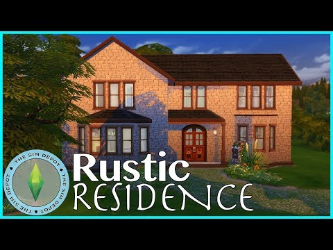 The Sims 4 House Build | Rustic Residence