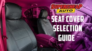 How to Choose the Right Seat Cover for your Vehicle