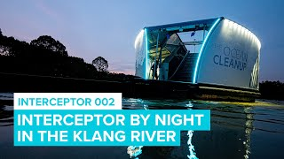 Interceptor by night | Cleaning Rivers | The Ocean Cleanup
