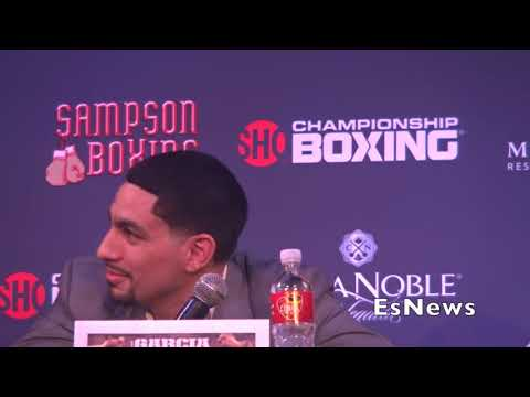 [MUSTSEE] Danny Garcia Father Tells Media To Suck His D*** EsNews Boxing