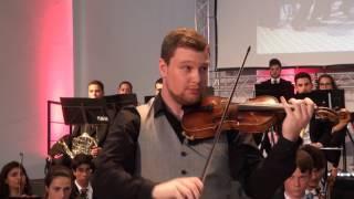 Ricardo Rupp Salavessa plays Tchaikovsky's Violin Concerto, 1st Mvt., with the OSJ