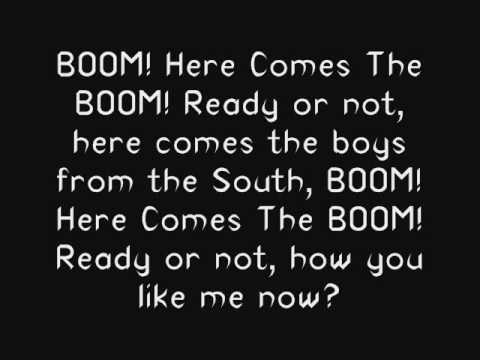 BOOM by POD Lyrics
