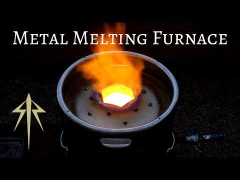 Making a Foundry│Metal Melting Furnace│Forge