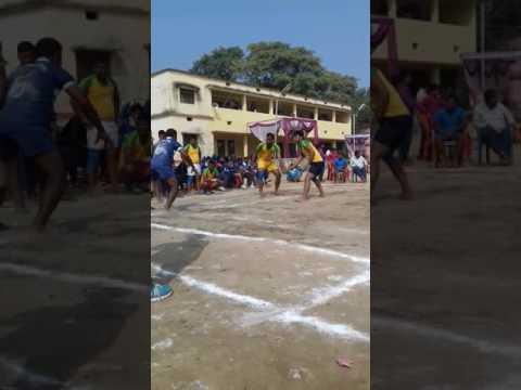 Kabaddi match..... East singhbhum vs dhanbhad