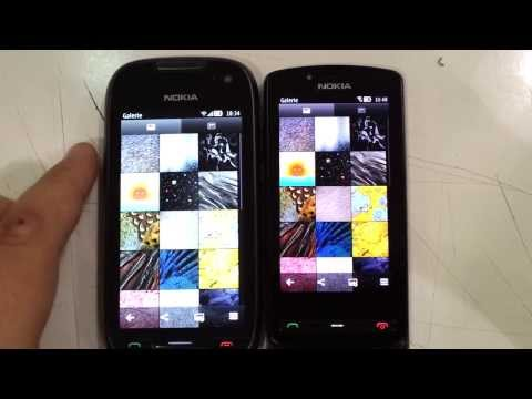Nokia 701 (IPS) vs 700 (AMOLED)