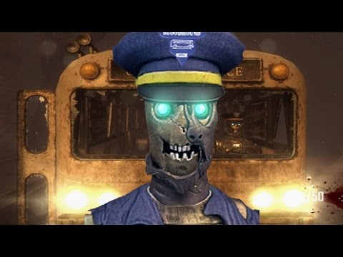 Call of Duty Black Ops 2 Zombies TRANZIT Gameplay + EXTRA