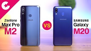 Samsung Galaxy M20 vs Asus Zenfone Max Pro M2 - Full Comparison!!
