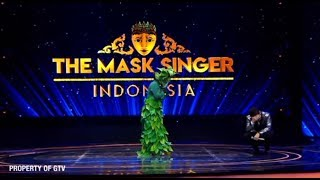 Putri Daun Udah Berani Roasting John Martin!   The Mask Singer Eps. 13 (6/11) GTV 2018
