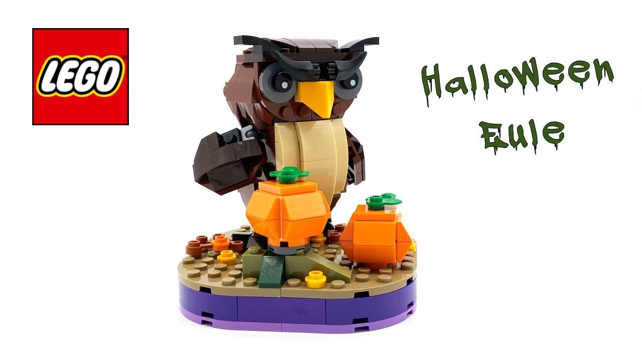 LEGO Halloween Eule (40497) - Speed build