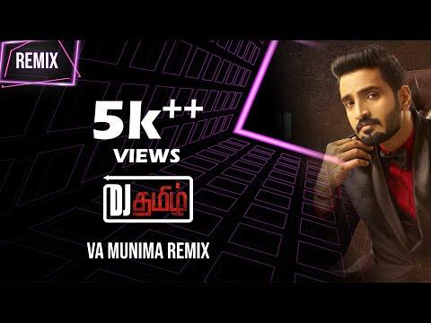 Sakka Podu Podu Raja - Vaa Munimma Tamil Club Remix | Santhanam | STR l T. Rajendar